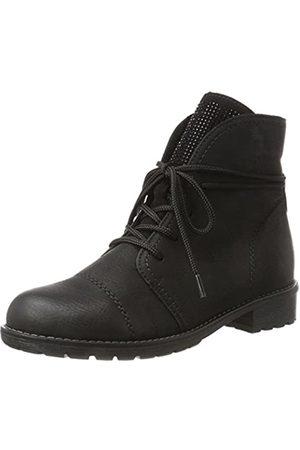 Rieker Girls' K3459 Combat Boots, (Schwarz/Schwarz 01)