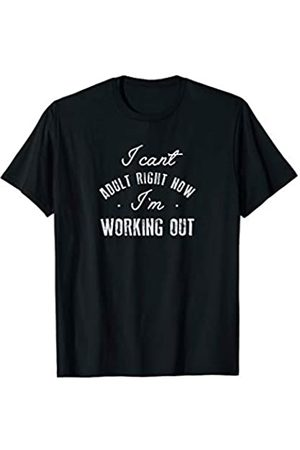 Triple G Mavs Cant Adult Im Working Out Shirt Funny Cute Gift