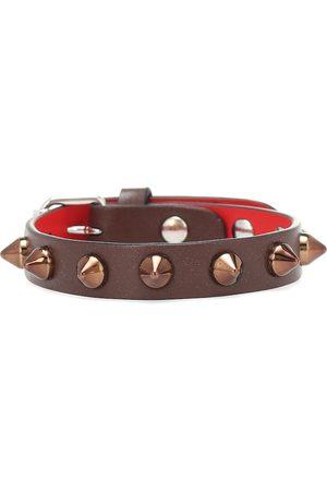 Christian Louboutin Women Bracelets - Loubilink studded leather bracelet