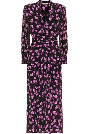 Dorothee Schumacher Radiant Leaves silk-blend midi dress