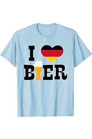 BUBL TEES I Heart Love German Bier Oktoberfest T-Shirt