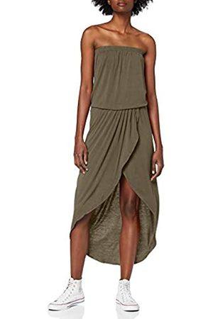 Urban classics Women's Ladies Viscose Bandeau Dress