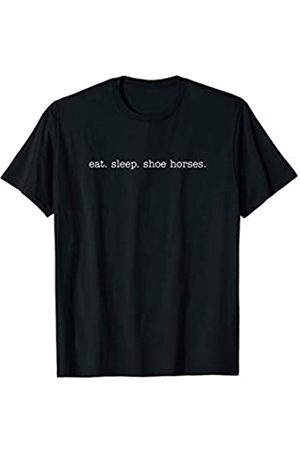 Eat Sleep Swag Eat Sleep Shoe Horses T-Shirt