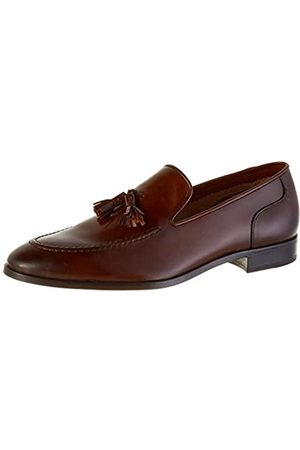 Lottusse Men's L7215 Loafers, (Jocker Old Teak)