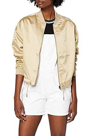 Urban classics Women's Ladies Satin Kimono Blouson Jacket