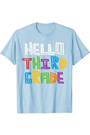 BUBL TEES Hello Third Grade Back To School Tee T-Shirt