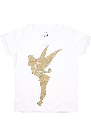 Disney Girl's Tinkerbell Silhouette T-Shirt