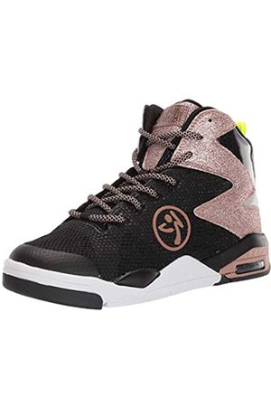 Zumba Fitness Fitness Women's Air Classic Sportliche High Top Tanzschuhe Damen Fitness Workout Sneakers Dance Shoe