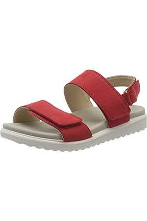 Legero Women's Savona Ankle Strap Sandals, (Marte (Rot) 50)