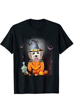 Coton De Tulear Dog Halloween Tshirt Gift Coton De Tulear Dog Pumpkin T-Shirt Halloween Gifts