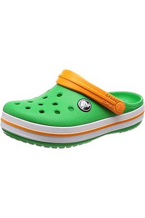 Crocs Unisex Kid's Crocband Clog K, (Grass - -Blazing )