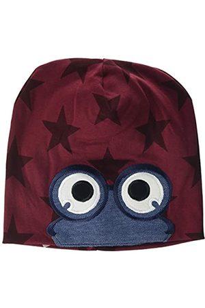 Green Cotton Girl's Star Peep Beanie Hat