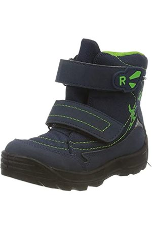 Richter Kinderschuhe Boys' Freestyle Snow Boots, Blue (Atlantic/Apple 7201)