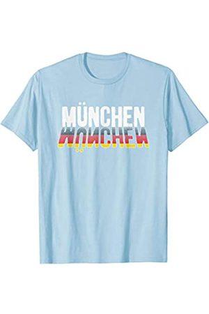 BUBL TEES Modern Munchen Bavaria Oktoberfest Beer Festival T-Shirt