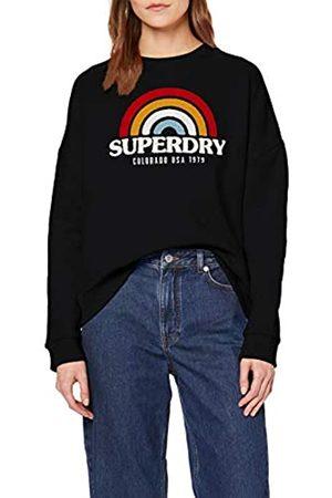 Superdry Women's Raven Panelled Crew Sweatshirt
