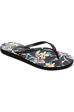 Roxy Women's Bermuda Print Beach & Pool Shoes, Anthracite)