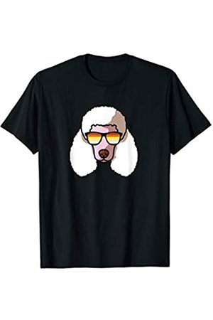 Paw Lovers 8 by Mezziteez Gay Poodle with Sunglasses - Cute Gay Pride Dog T-Shirt