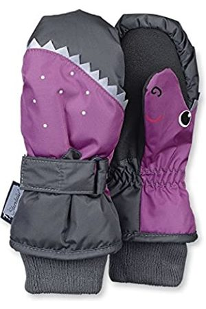 Sterntaler Mittens for Children, Waterproof and reflective, Age: 7-8 Years, Size: 5