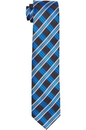 G.O.L. Boy's Krawatte, Diagonal-Check 9965200 Necktie, -Blau (Kobalt 1)
