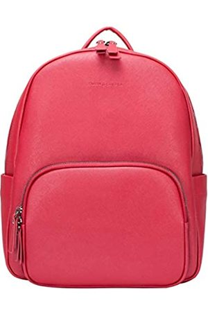 Smith & Canova Mens Saffiano Leather Backpack Backpack
