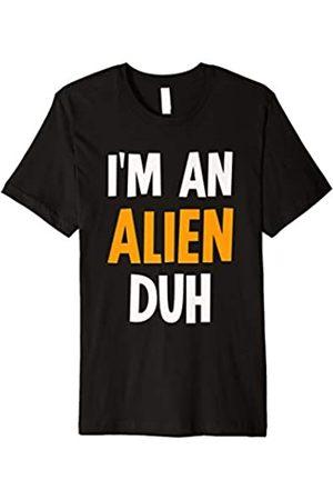I'm an Alien Duh Halloween Costumes I'm an Alien Duh Halloween Costume T-Shirt