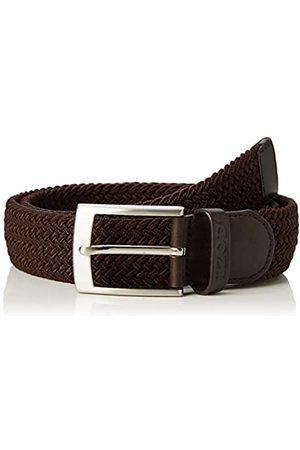 Izod Men's Solid Herringbone Belt