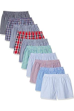 Citylife Boxershorts, 10er Pack Boxer Shorts, Small