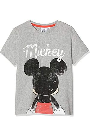 Disney Mickey Mouse Boy's Back of Head T-Shirt, ( Marl)