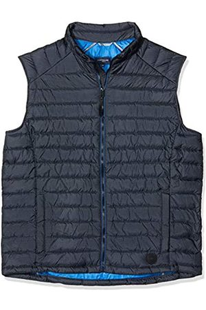 TOM TAILOR Men+ Mens 1015869 Down Banded Collar Sleeveless Outdoor Gilet - - XXX-Large