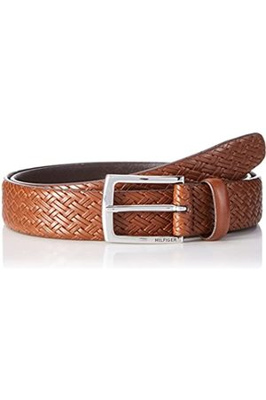 Tommy Hilfiger Men's TLD Braided Emboss Belt 3.0