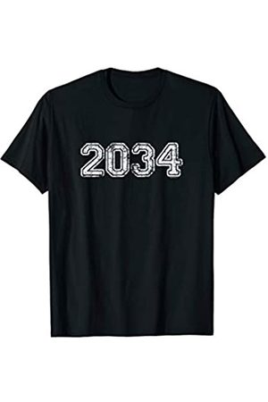 School Days Shirts by alphabet lab Class of 2034 Shirts | Graduation Gifts Him Her Senior 2034 T-Shirt