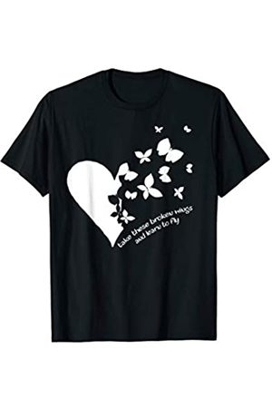 My Shirt Hub Butterfly Heart Take These Broken Wings And Learn To Fly T-Shirt
