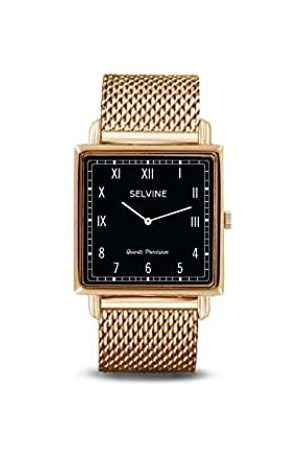 Selvine Womens Analogue Quartz Watch with Stainless Steel Strap SOLY5