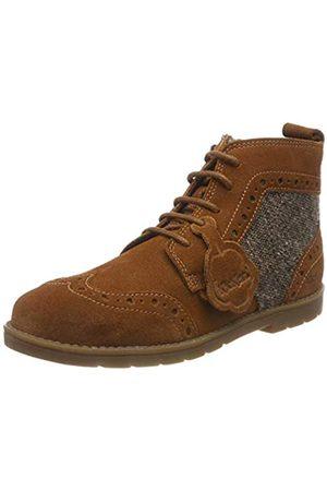 Kickers Boys' Orin Brogue Classic Boots, (Rich Tan RCH Tan)