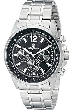 Burgmeister Unisex Analog Quartz Watch with Stainless-Steel Strap BM608-121