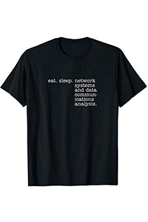 Eat Sleep Swag Eat Sleep Network Systems and Data Communications Analysis T-Shirt