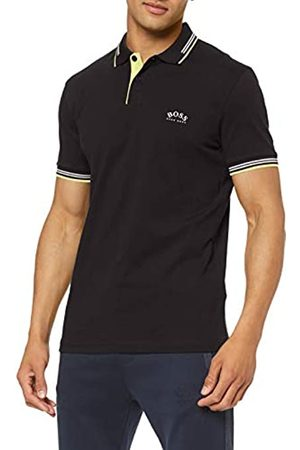 HUGO BOSS Men's Paul Curved Slim Fit Short Sleeve Polo Shirt