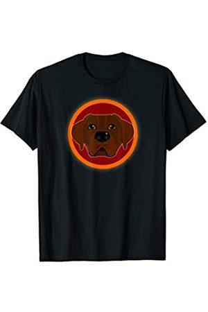 ToonTyphoon Funny Coat of Arms Choco Labrador Retriever T-Shirt