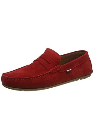 Tommy Hilfiger Men's Classic Suede Penny Loafer Mocassins, (Primary XLG)