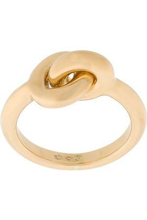 CHARLOTTE CHESNAIS 18kt yellow Maxi Twin ring