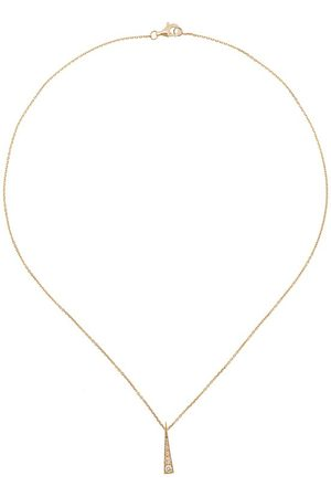 Daou 18kt yellow Spark diamond convertible necklace