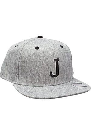 MSTRDS Letter Snapback J Baseball Cap, -Grau (J 1180,4625)