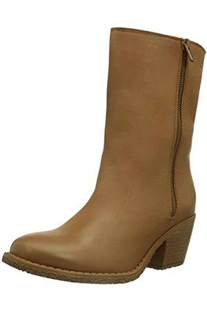 Dkode Womens LEE WL Warm Lined Slip-on Boots Short Length Braun (TAN 010) Size: 7 UK