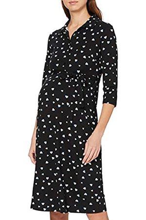 Dorothy Perkins Women's Maternity Cobalt Heart Print Jersey Shirt Dress