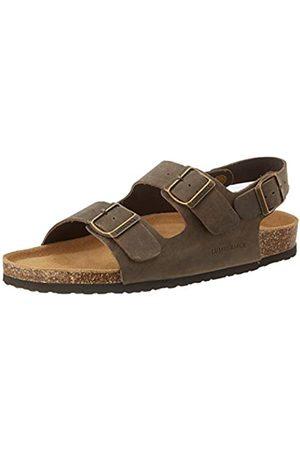 Lumberjack Men's Isla Open Toe Sandals, (Dk Ce002)