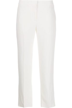 Alexander McQueen Cropped tailored trousers