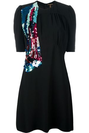 LOUIS VUITTON 2014 pre-owned sequinned detail dress