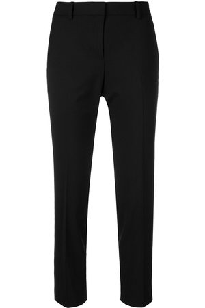 THEORY Women Slim & Skinny Trousers - Slim-fit cropped trousers