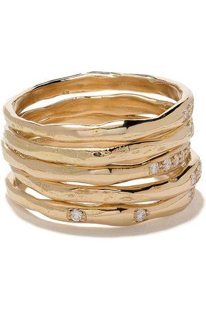 WOUTERS & HENDRIX Women Rings - 18kt Diamond set of rings