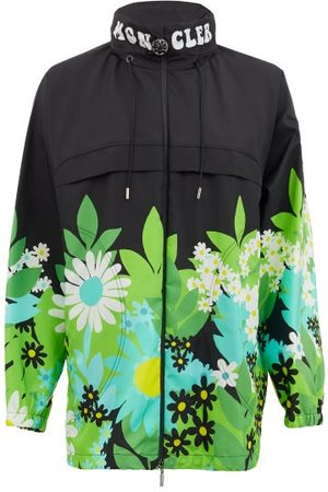 8 MONCLER RICHARD QUINN Pat Floral-print Nylon Jacket - Womens - Multi